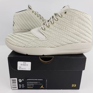 Jordan ECLIPSE CHUKKA  (Light Bone) Men's size 9.5